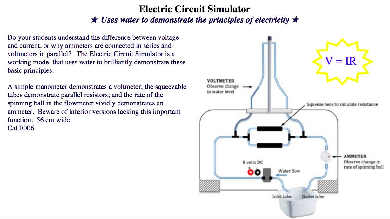 Jupiter Scientific Easy Circuit Simulator Electric